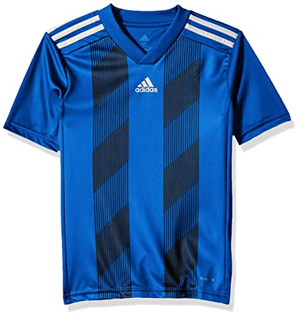 80d033c95 Amazon.com: adidas Unisex Soccer Striped 19 Jersey: Sports & Outdoors