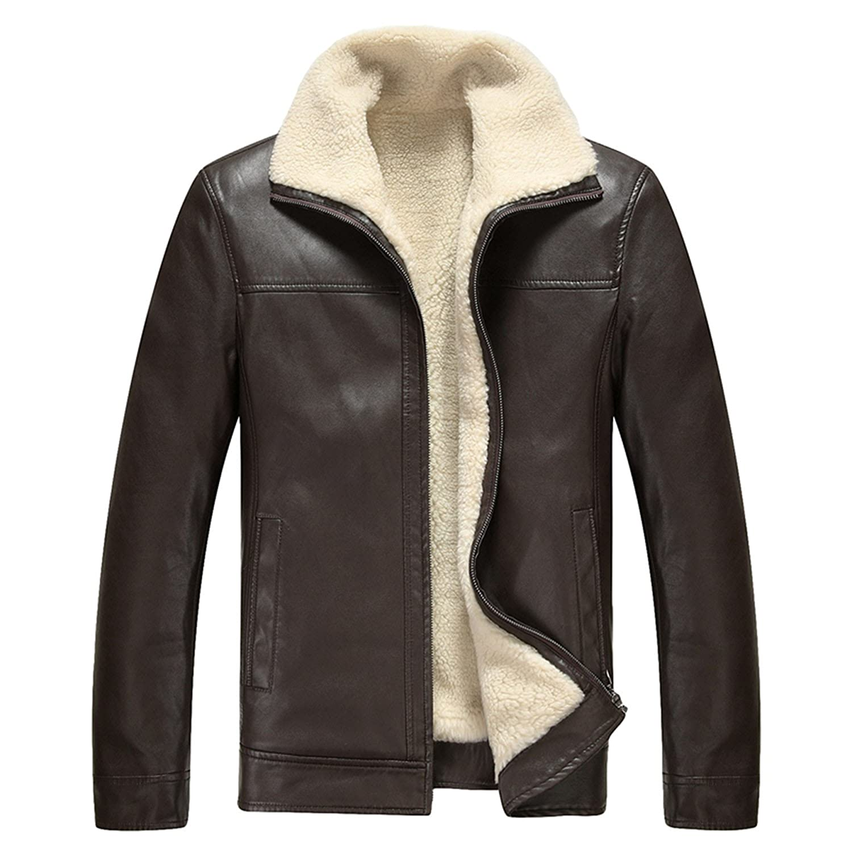 Otoño y el invierno de la moda chaqueta de piel perchero de ...
