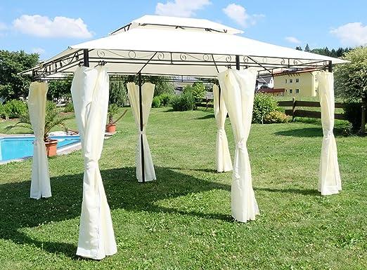 3x4 metros glorieta mirador con elegantes cortinas 6 2016-A: Amazon.es: Hogar