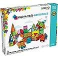 Magna Tiles Metropolis Set, The Original Magnetic Building Tiles for Creative Open-Ended Play, Educational Toys for Children