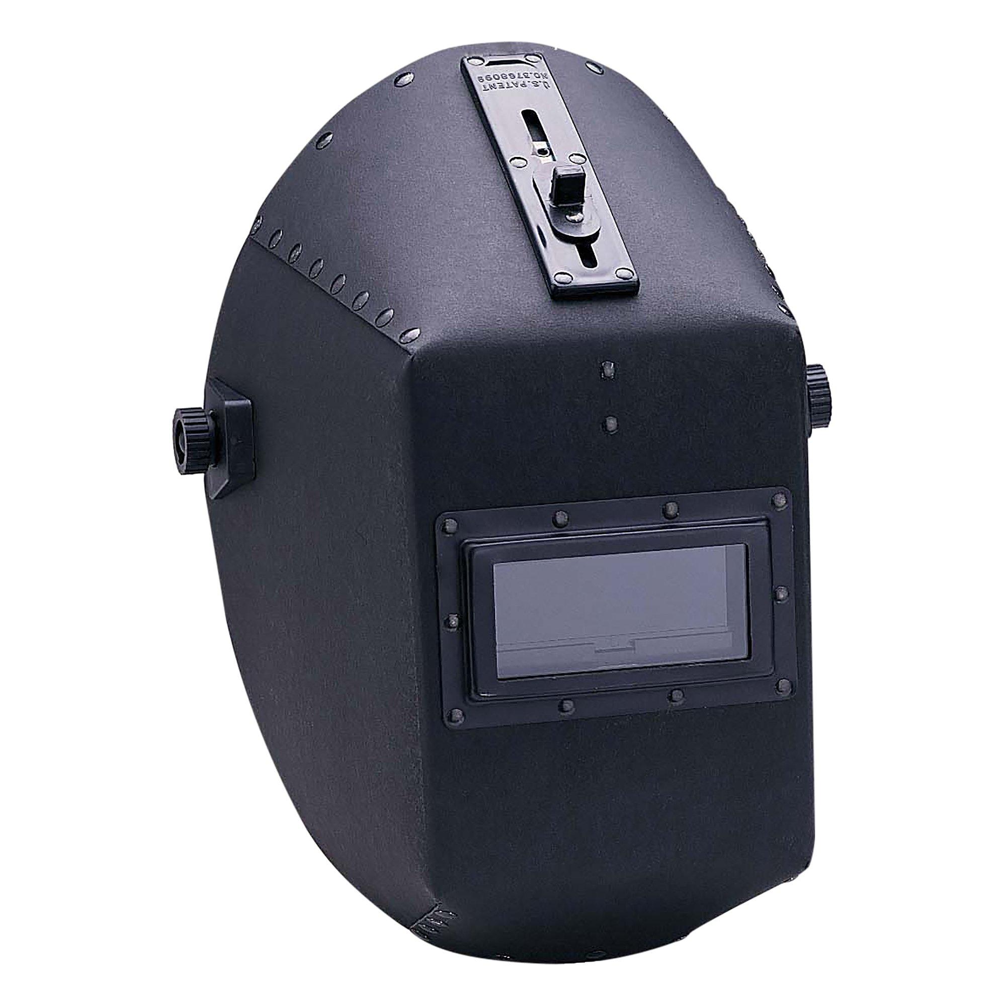Jackson Safety 14532 W20 490P Black Quick Slide Fiber Shell Welding Helmet, 4-1/4'' Length x 2'' Width (Pack of 4)