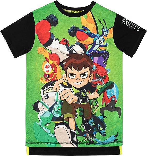 Ben 10 Camiseta para niño: Amazon.es: Ropa y accesorios