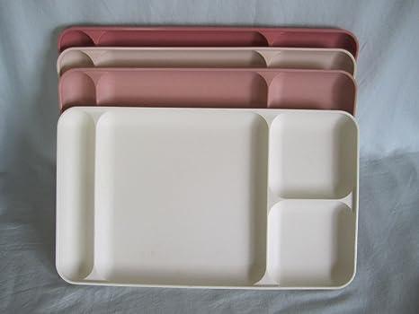 Amazon.com: Set de 4 – Vintage Tupperware el almuerzo Cena ...