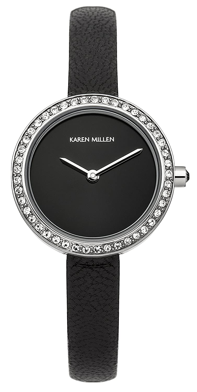Karen Millen Damen-Armbanduhr Woman Analog Quarz KM146B