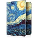 Fintie Passport Holder Travel Wallet RFID Blocking PU Leather Card Case Cover, Starry Night