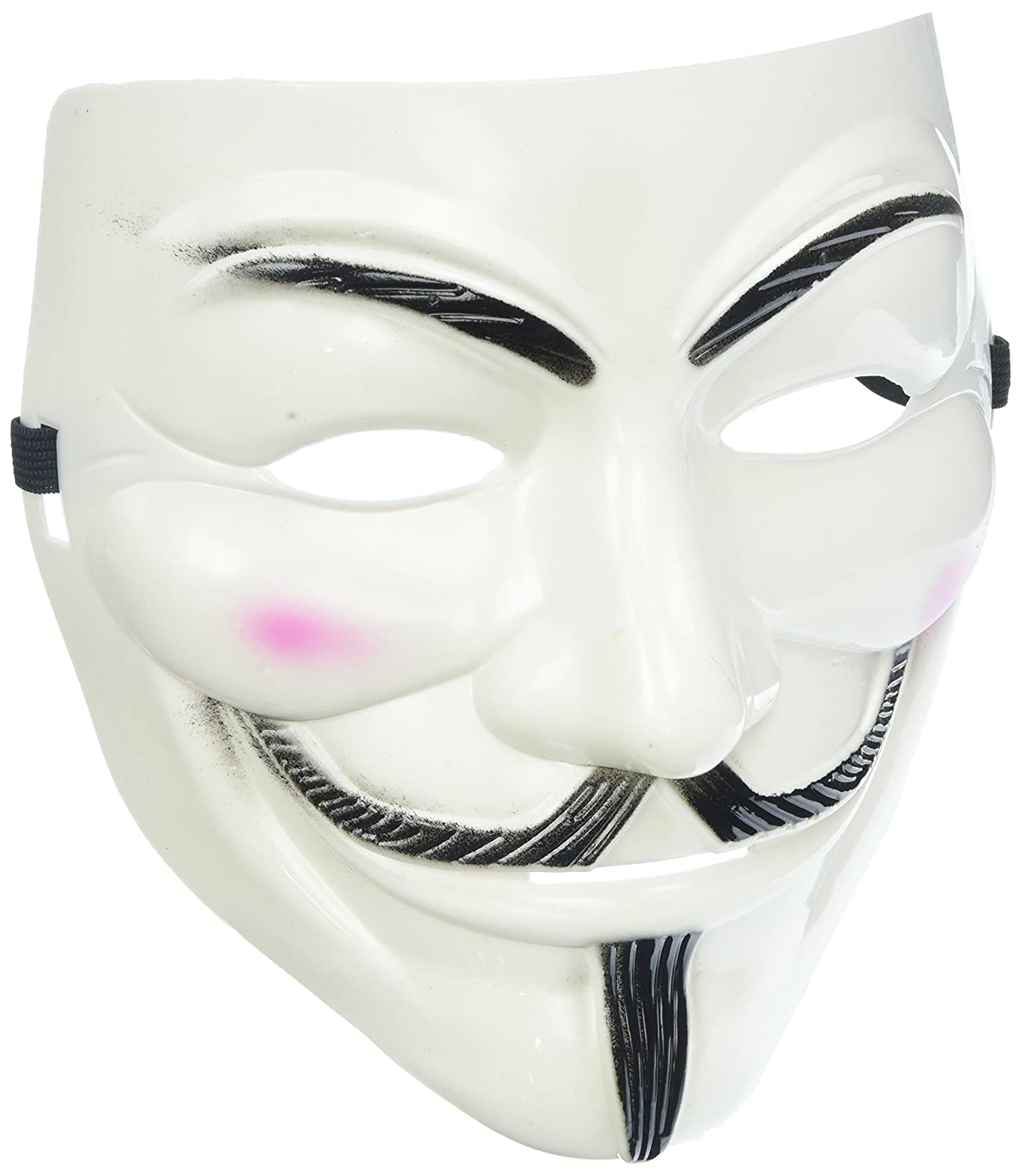 Adorox V For Vendetta White Face Mask Anonymous Guy Fawkes 2