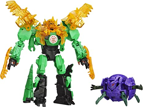 Transformers Robots in Disguise GRIMLOCK vs DECEPTICON BACK Complete RID 2015