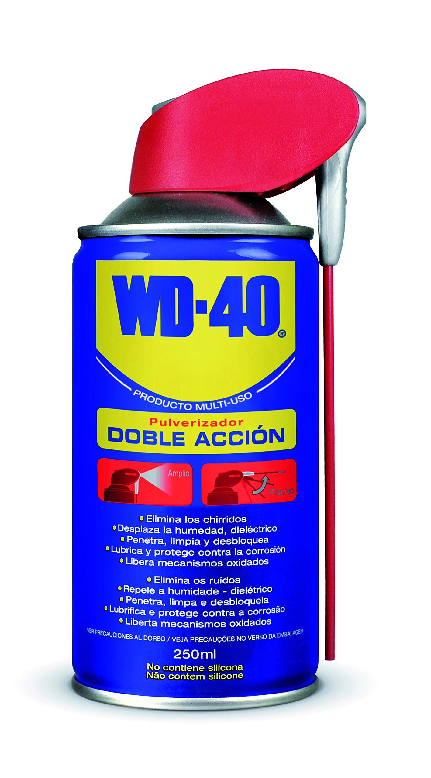 WD 40 34530 - Aceite multiusos doble acción (250 ml)