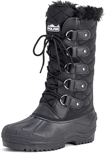POLAR Womens Tall Quilted Snow Tactical