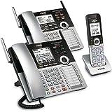 VTech 4-Line Small Business Phone System - Office Starter Bundle with 1 CM18445 Main Console, 1 CM18245 Deskset & 1 CM18045 H