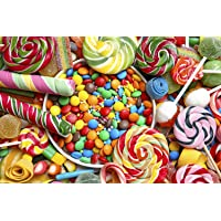 Yeitur 1000-Pcs Jigsaw Puzzle Many Colorful Candies 30 x 20-in Deals