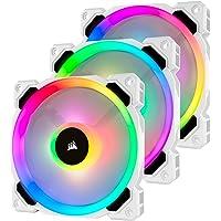 Corsair LL Series, LL120 RGB, 120mm RGB LED Fan with Lighting Node PRO (White)