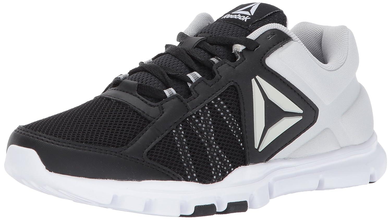 - Reebok Wohommes Yourflex Trainette 9.0 MT Track chaussures, noir Skull gris blanc, 5.5 M US