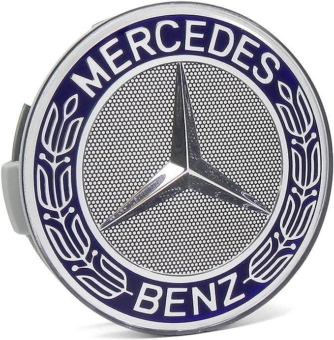 NEW GENUINE MERCEDES BENZ MB WHEEL HUB CENTER CAP LAUREL WREATH LOGO