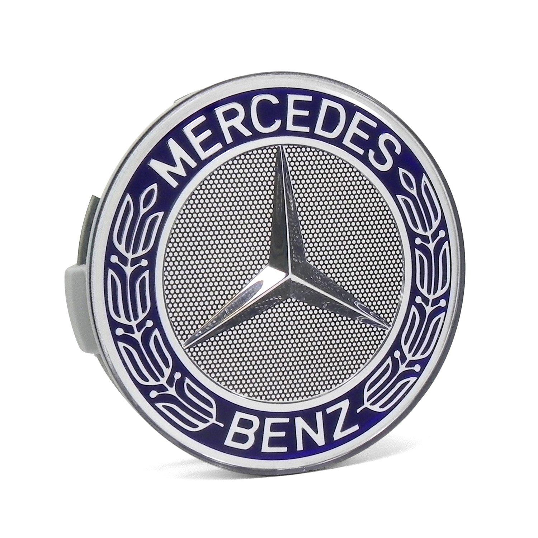 Amazon For Mercedes Benz Blue Classic Logo Wheel Center Cap
