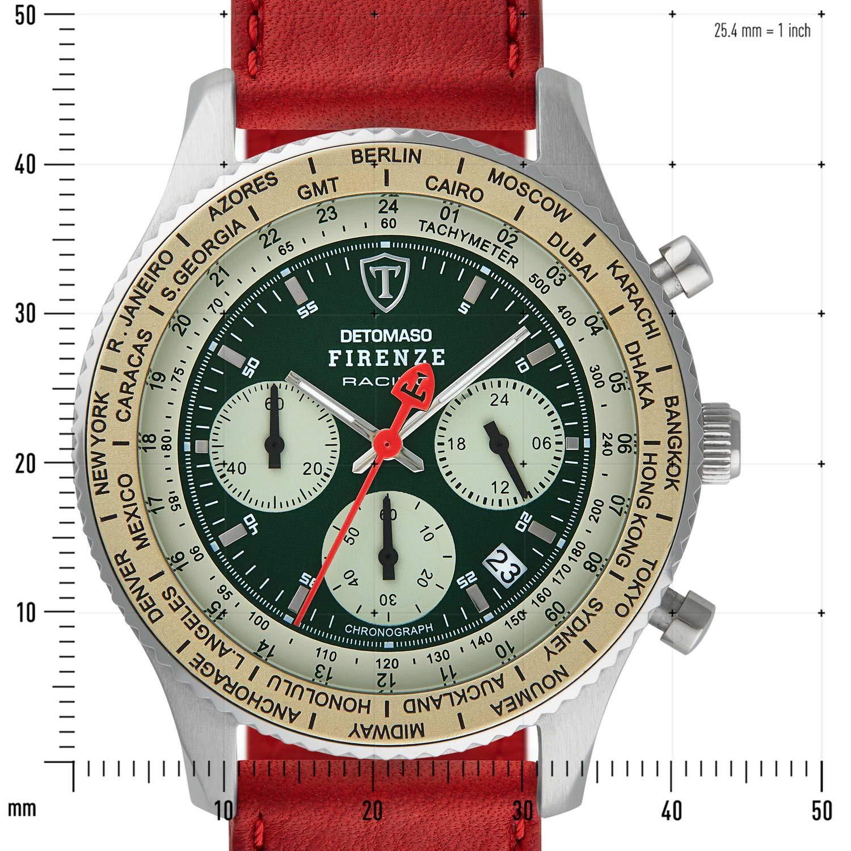DETOMASO Firenze Reloj Caballero Cronógrafo Analógico Cuarzo ...