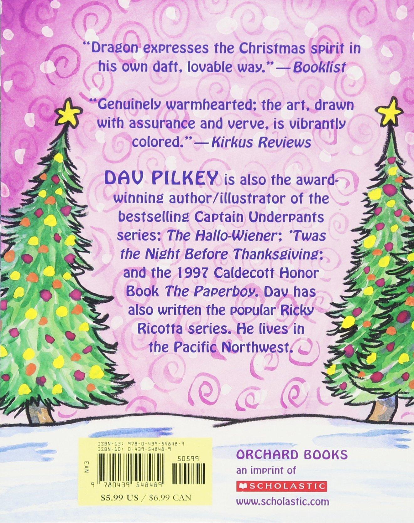 Amazoncom Dragons Merry Christmas 9780439548489 Dav Pilkey Books