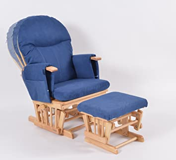 watch b4136 0bdaa Habebe Glider Rocking Nursing Maternity Breastfeeding Recliner Chair with  footstool ***WITH WASHABLE COVERS***