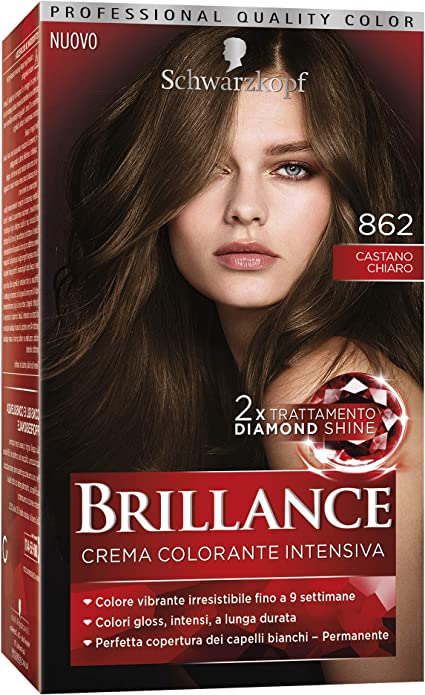 TESTANERA Brillantez 862 Castaño - tintes para el cabello ...
