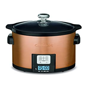Cuisinart PSC-350CPP 3.5 Quart Programmable Slow Cooker Copper