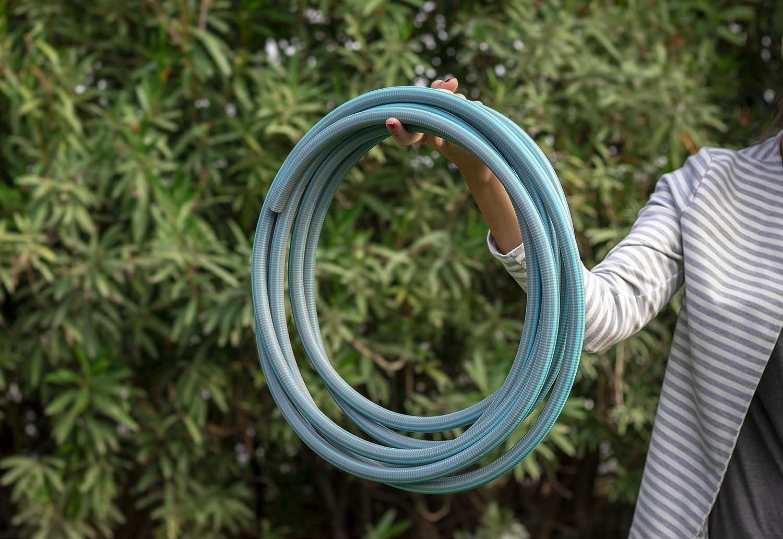 Idroeasy Armadillo Drinky Flex 30 Metri Il Tubo Super Leggero da Giardino Anti Nodo e Anti Torsione Made in Italy