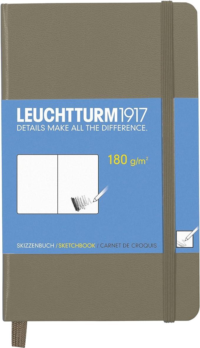 Amazon.com: Leuchtturm1917 – Cuaderno Classic bolsillo de ...