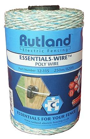 Rutland (RUTLJ) Essentials - Alambre Conductor de Polietileno (3 x 0 ...