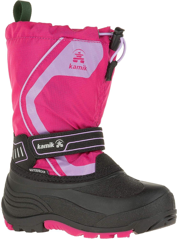 Kamik Girls Snowcoast3 Snow Boots Pink 11
