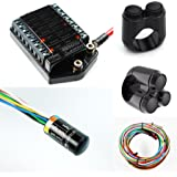 "Motogadget MG4002033 - m-Unit V .2 Digital Control Unit Builders Pack with M-button, Cable kit and Motone 2-button and 3-button switches for 7/8"" Bars"