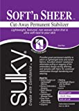 "Sulky Of America Cut Away Soft N Sheer Stabilizer, 20"" by 1 yd, White"