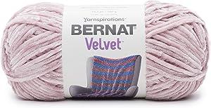Bernat Velvet Yarn, 10.5 oz, 1 Ball, Smokey Violet