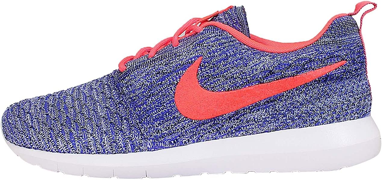 newest collection d1f8e 8ad2f NIKE Mens Flyknit Rosherun, PRSN VioletHOT Lava-White-ALMNM, Style