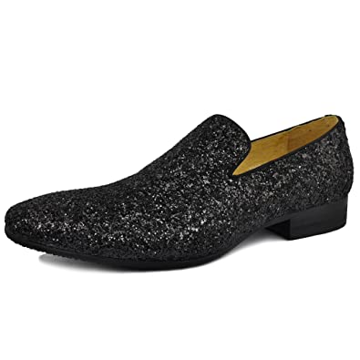 Mens Sequined Loafer