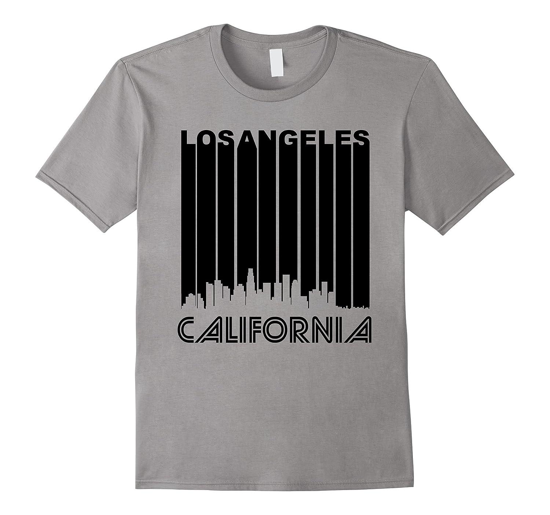 Retro 1970s Los Angeles California Downtown Skyline T