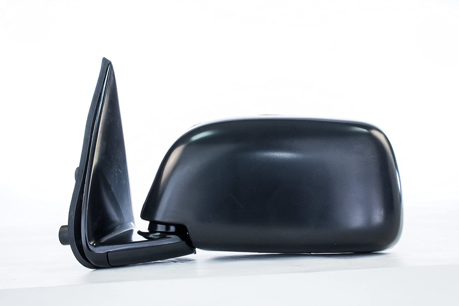 Dependable Direct Right Side Black Manual Folding Mirror for 95-99 Toyota Tacoma