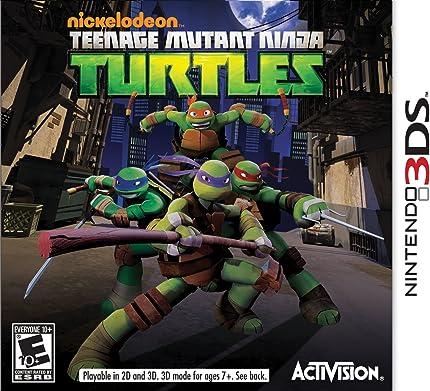 Amazon.com: Teenage Mutant Ninja Turtles - Nintendo 3DS ...