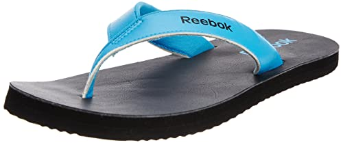 Image Unavailable. Image not available for. Colour  Reebok Men s Advent LP  Black and Blue Flip-Flops and House Slippers ... 726f18ec9