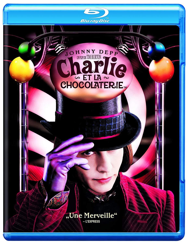 Charlie et la chocolaterie [Blu-ray] [FR Import]: Amazon.de: Depp, Johnny,  Highmore, Freddie, Robb, Annasophia, Burton, Tim, Depp, Johnny, Highmore,  Freddie: DVD & Blu-ray