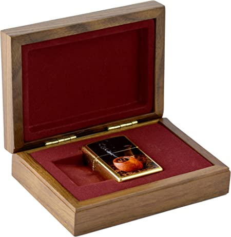 Zippo Lighter Pipe Limited 001/250 en Luxus regalo/caja de madera: Amazon.es: Hogar