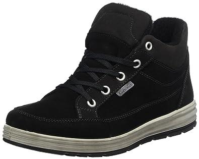 Ricosta Madoc-s, Sneakers Hautes Mixte Adulte, Noir (Schwarz), 41 EU