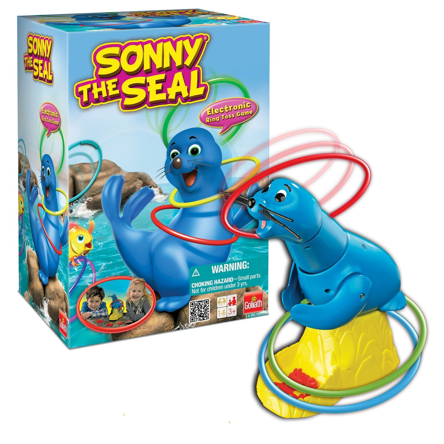 Sonny The Seal Ring Toss Game by Goliath