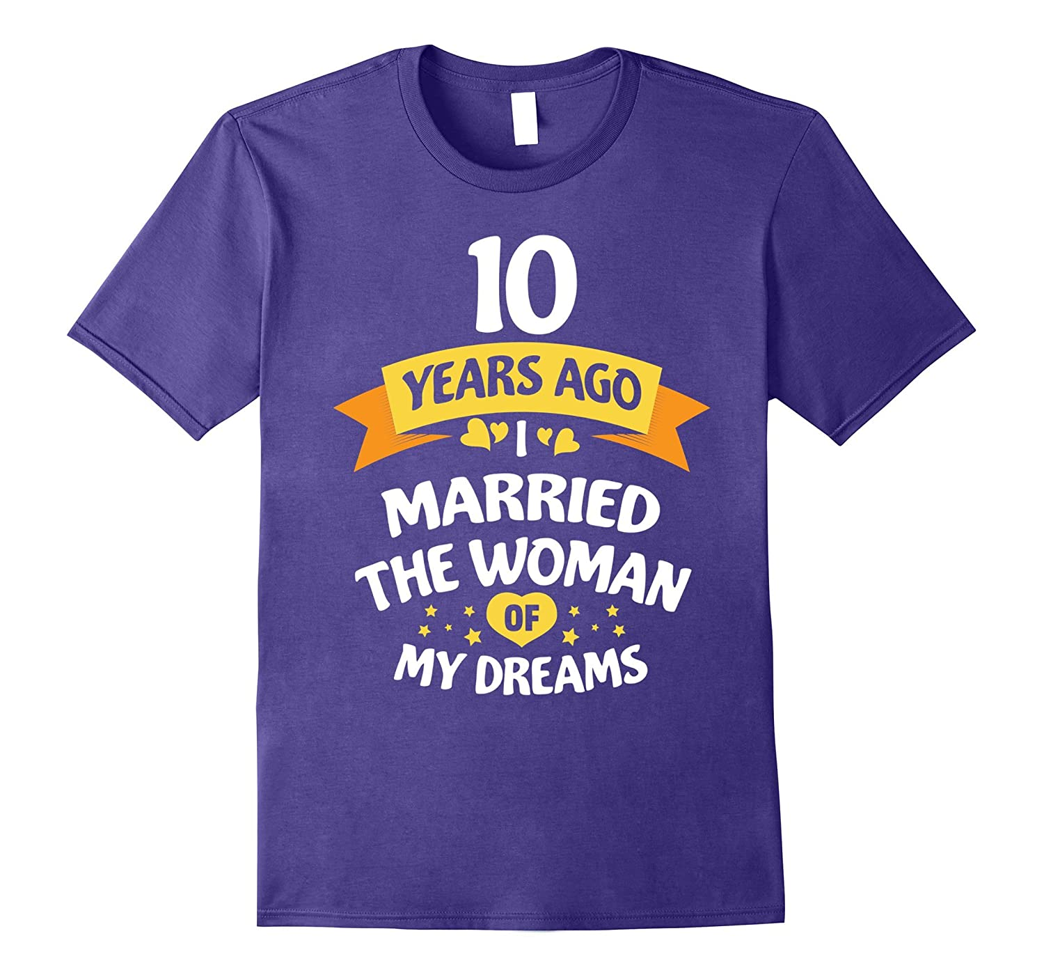 10 Years Anniversary Gift Idea for Him Ten-TH