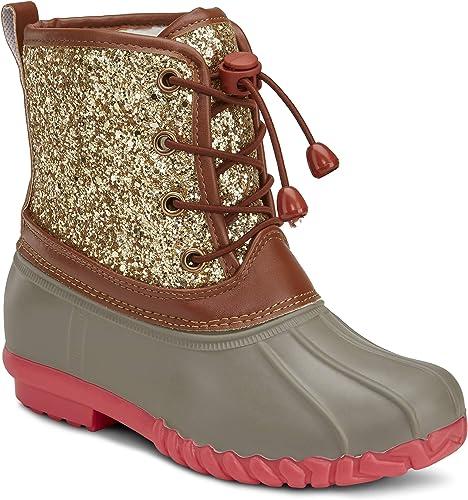 Botique Girls Duck Boot with Metallic