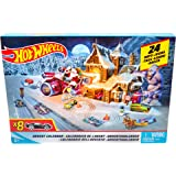 Hot Wheels Advent Calendar with Mini Cars Toy Mattel
