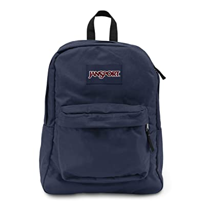 JanSport Superbreak Backpack, Navy: Clothing