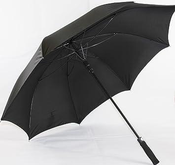 De alta calidad paraguas de golf XXL (extra grande) con fibra de vidrio colour