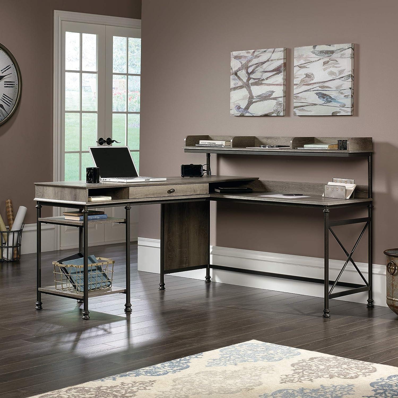Sauder 420509 Canal Street L-Desk, L: 60.75