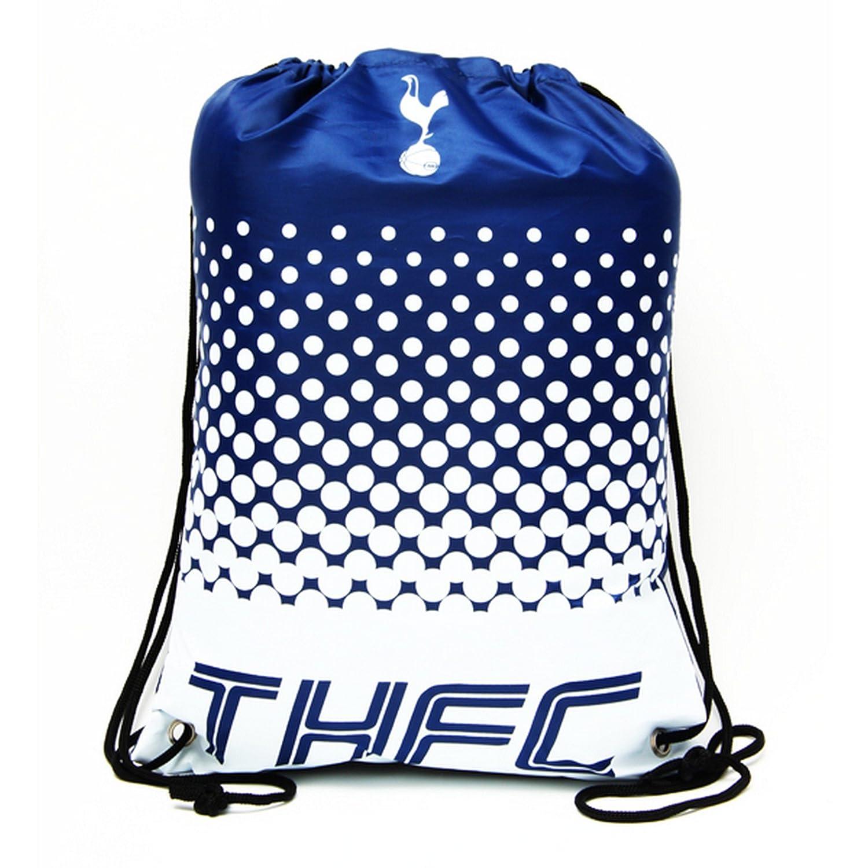 トッテナムホットスパー フットボールクラブ Tottenham Hotspur FC オフィシャル商品 ナップサック スポーツバッグ ジムバッグ サッカー B01LY126LE ネイビー/ホワイト ワンサイズ