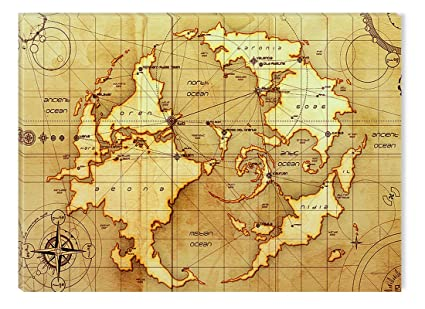 Amazon startonight wall art canvas ancient world map vintage startonight wall art canvas ancient world map vintage usa design for home decor dual gumiabroncs Image collections
