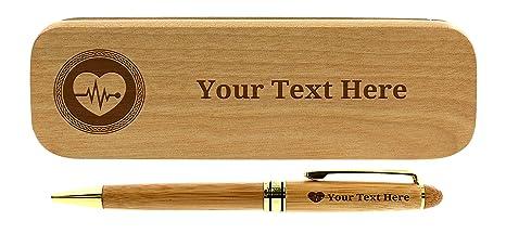 b858629e8aa Amazon.com : Custom Doctor Gifts Custom Pen Set EKG Gifts ...